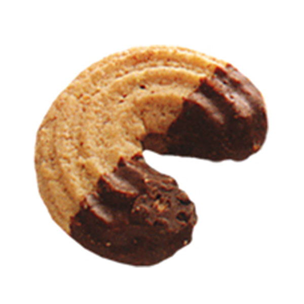 COOKIES EXTRUDED AND DEPOSITED